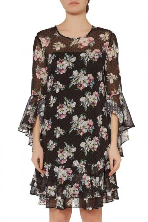 Dress Gina Bacconi. Цвет: black, beige