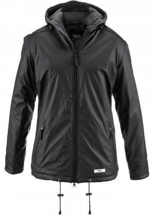 Демисезонная куртка bonprix. Цвет: черный