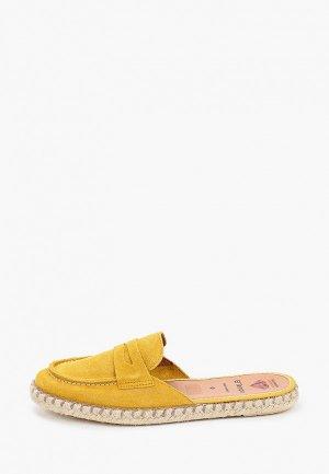 Мюли El Tempo. Цвет: желтый