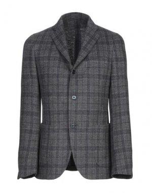 Пиджак PAVIN. Цвет: свинцово-серый