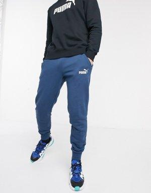 Синие джоггеры с логотипом -Синий Puma