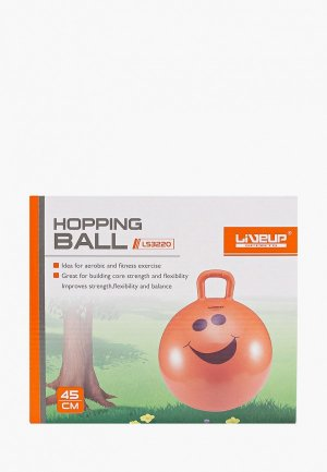 Мяч гимнастический Liveup детский, HOPPING BALL. Цвет: оранжевый