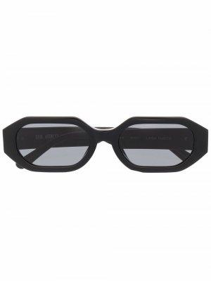 Солнцезащитные очки Irene The Attico. Цвет: черный