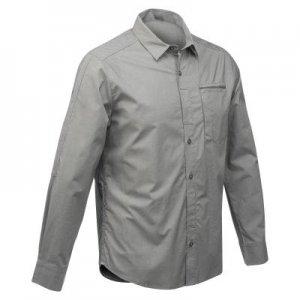 Рубашка Модульная Для Походов И Путешествий Мужская Travel 500 FORCLAZ