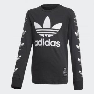 Лонгслив History Graphic Originals adidas. Цвет: черный