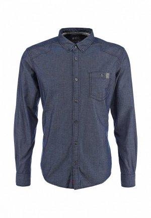 Рубашка EDC by Esprit. Цвет: синий