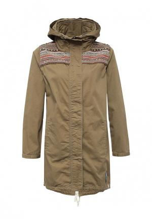 Куртка Animal NIA. Цвет: хаки