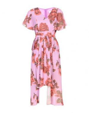 Платье до колена LOST INK. Цвет: светло-фиолетовый