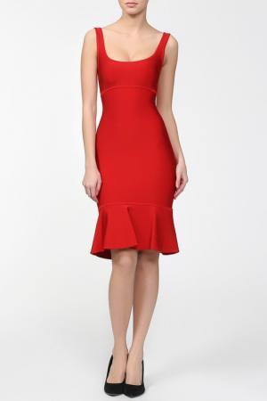 Платье Herve L.Leroux. Цвет: красный