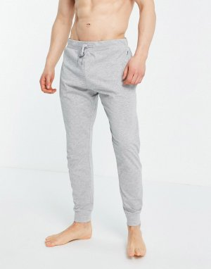Сине-серые меланжевые штаны для дома из трикотажа джерси -Серый French Connection