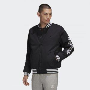 Куртка-бомбер Originals adidas. Цвет: черный