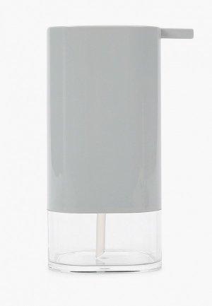 Дозатор для мыла Primanova. Цвет: серый