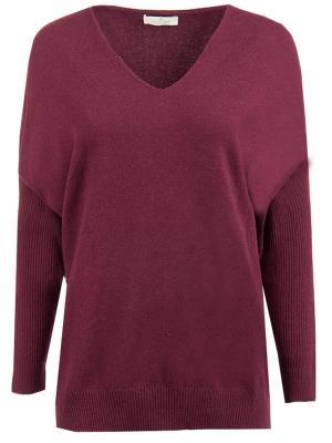 Пуловер из шерсти мериноса Panicale. Цвет: бордовый