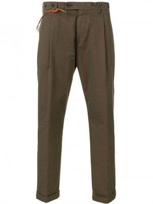 Классические брюки в полоску Berwich