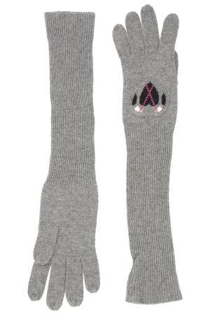 Перчатки BeaYukMui. Цвет: серый