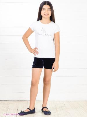 Шорты для девочек Arina Ballerina. Цвет: темно-синий