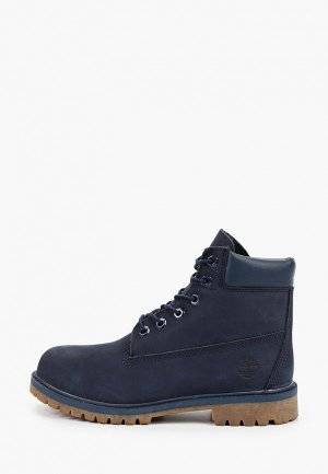Тимберленды Timberland 6 In Premium WP Boot. Цвет: синий