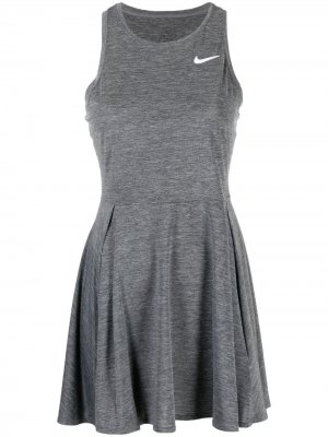 Платье Court Dri-FIT Advantage Tennis Nike. Цвет: серый
