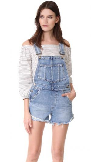 Комбинезон с шортами x Taylor Hill Joe's Jeans. Цвет: cece