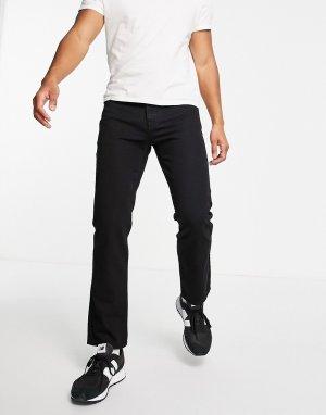 Черные прямые джинсы -Черный цвет Topman