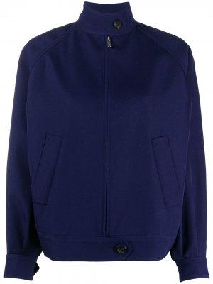 Куртка-бомбер Miu. Цвет: синий