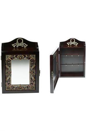 Ключница-зеркало Русские подарки. Цвет: мультицвет