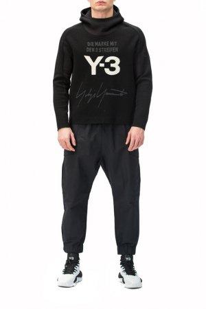 Свитшот Y-3. Цвет: черный