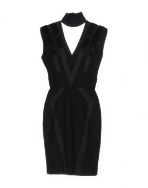 Короткое платье SIVIGLIA. Цвет: черный