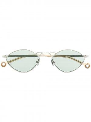 Солнцезащитные очки Dream Etudes. Цвет: серебристый
