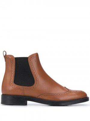 Tods ботинки челси Tod's. Цвет: коричневый