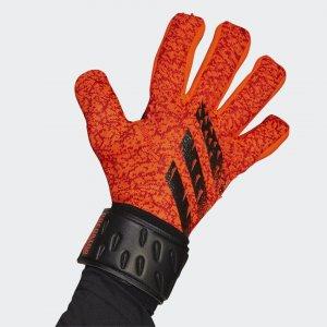 Вратарские перчатки Predator League Performance adidas. Цвет: красный
