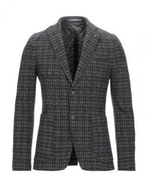Пиджак HAVANA & CO.. Цвет: темно-коричневый