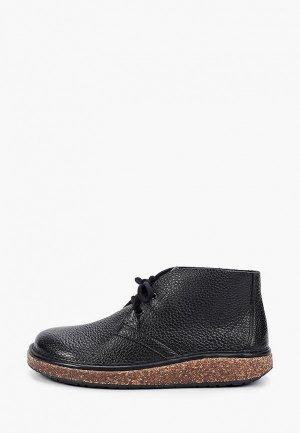 Ботинки Birkenstock Milton NL Black Regular. Цвет: черный
