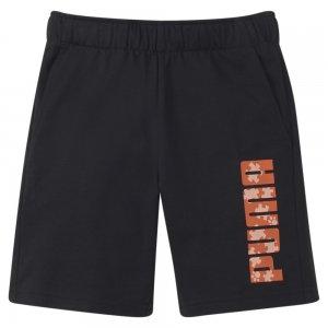 Детские шорты Paw Kids Shorts PUMA. Цвет: черный