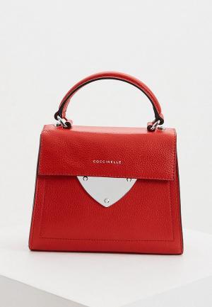 Сумка Coccinelle B14. Цвет: красный