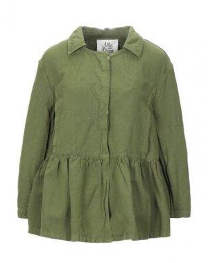 Пиджак ATTIC AND BARN. Цвет: зеленый-милитари