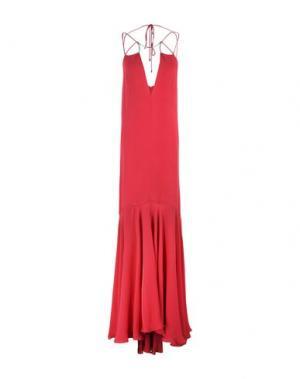 Длинное платье PLEIN SUD. Цвет: пурпурный