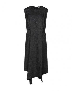 Платье миди BY MALENE BIRGER. Цвет: черный