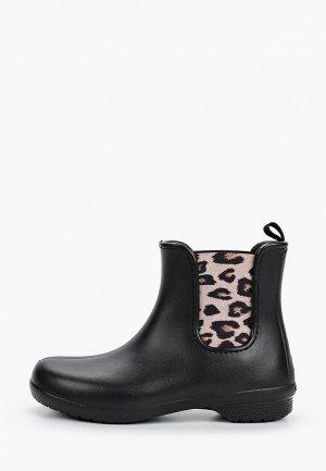 Полусапоги Crocs Freesail Chelsea Boot W. Цвет: черный