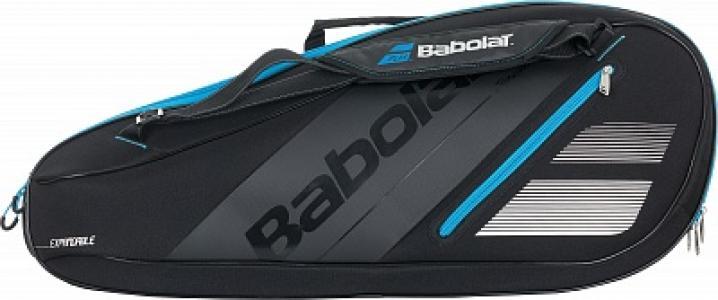 Сумка RH Expandable Team Babolat. Цвет: черный