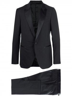 Костюм с однобортным пиджаком LANVIN. Цвет: черный
