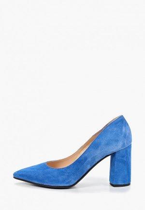 Туфли Argo. Цвет: голубой