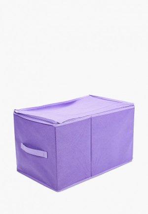 Короб для хранения Prima House. Цвет: фиолетовый