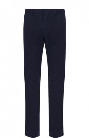 Классические хлопковые брюки Polo Ralph Lauren. Цвет: темно-синий