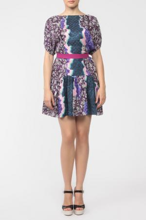 Платье Peter Pilotto. Цвет: мультиколор