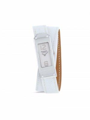 Наручные часы Kelly 2 pre-owned 15 мм 2000-х годов Hermès. Цвет: белый