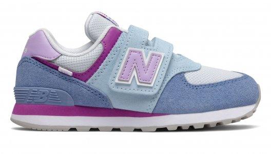 Кроссовки Athletic Shoe New Balance. Цвет: голубой