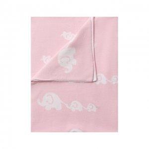 Хлопковое одеяло Kissy. Цвет: розовый