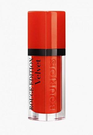 Тинт для губ Bourjois Rouge Edition Velvet, Тон 20. Цвет: красный