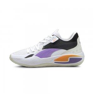 Кроссовки Court Rider I Basketball Shoes PUMA. Цвет: белый